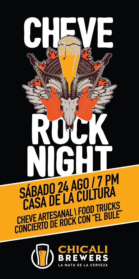 Cheve Rock Night