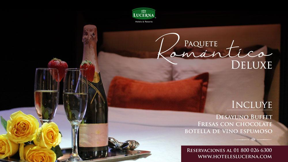 Hotel Lucerna, Mexicali Paquete Romántico